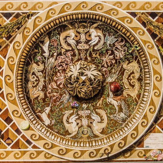 Podłogi ręcznie malowane